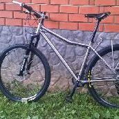 Ti 29er bike photo