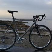 Ti cross bike photo
