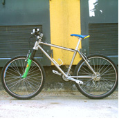 Ti MTB bike photo