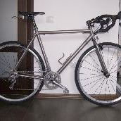 Titanium road bike