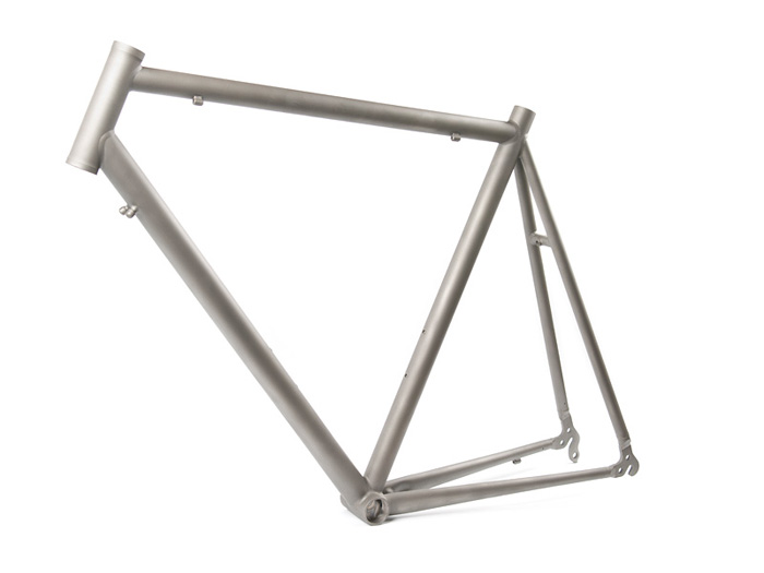 Titanium bicycle frames and components production