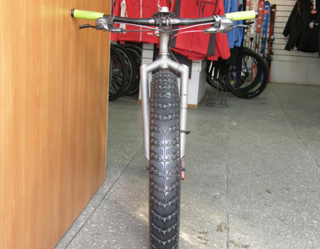 titanium Fat-bike frame